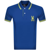 Product Image for Psycho Bunny Milburn Classic Polo T Shirt Blue